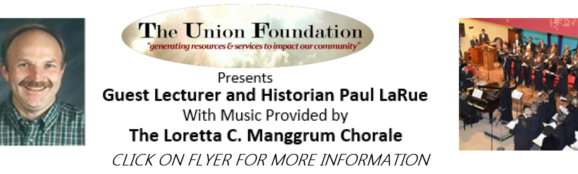 Union Foundation Concert 2018