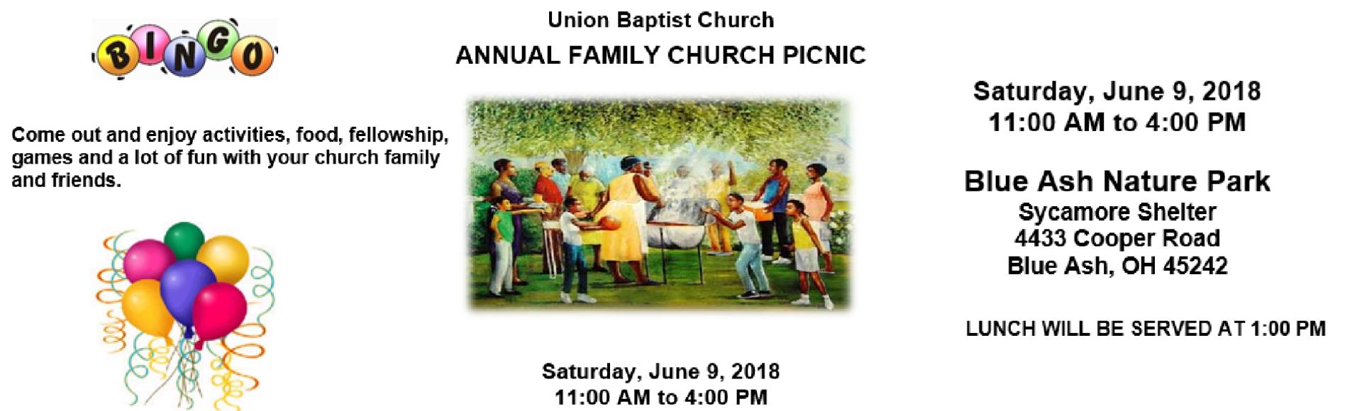 Church Picnic 2018