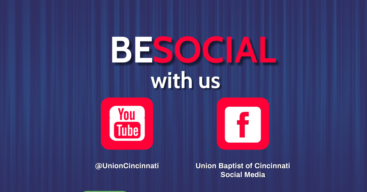 Be Social with Us Banner