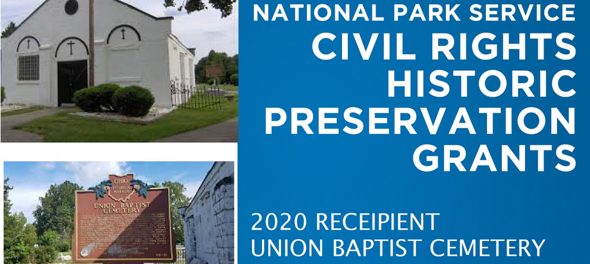Union Baptist Cemetery Preservation Grant iii