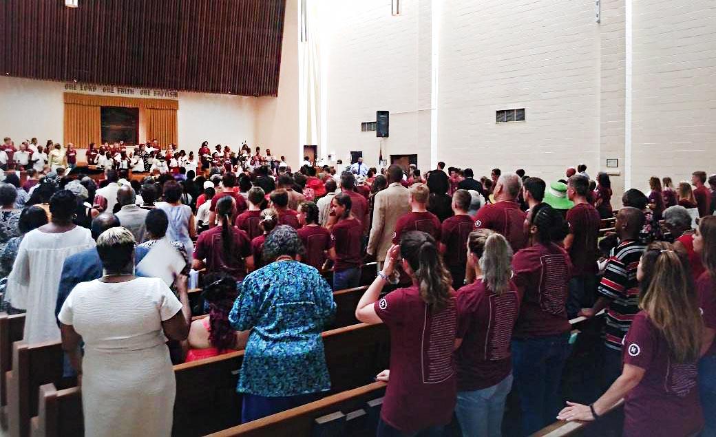 Church Anniversary Photo