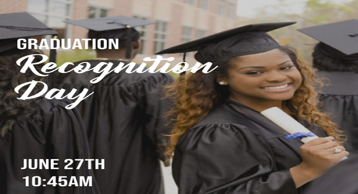 Graduation Recognition Day Banner